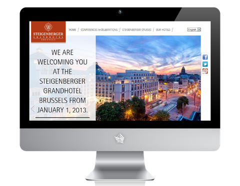 Steigenberger grandhotel brussels official website
