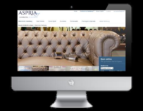 Aspria Uhlenhorst Hotel Website