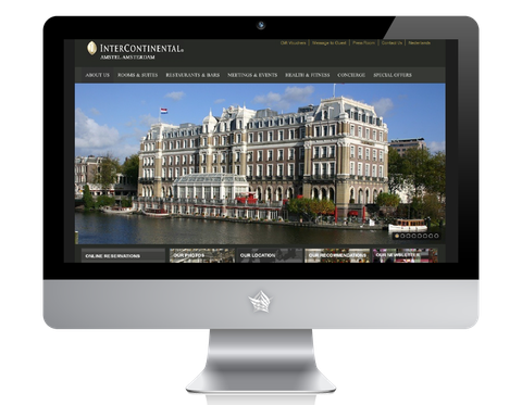 Amstel Intercontinantal Hotel Website