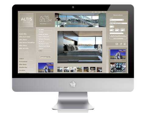 Altis Belem Hotel Website