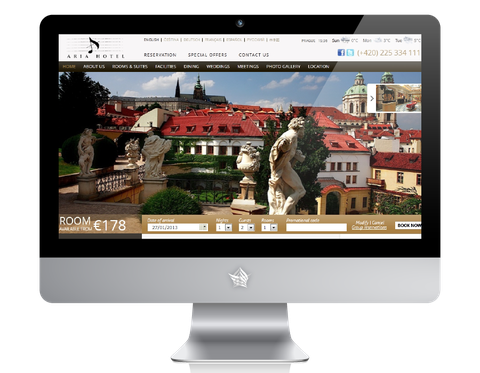 Aria Hotel Prague Website