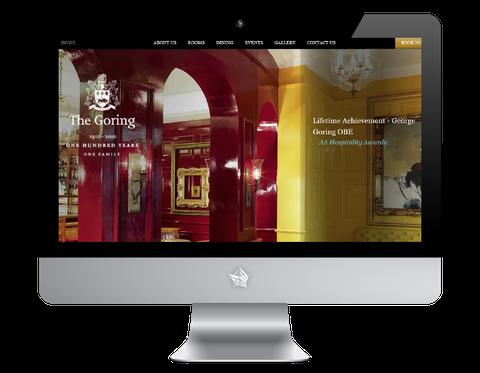 Goring Hotel website