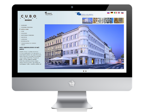 The Cubo Hotel Website