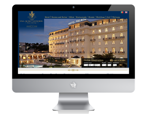 Palacio Estoril Hotel Website