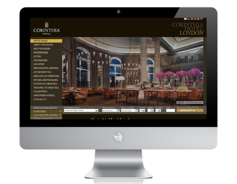 Corinthia Hotel London Website