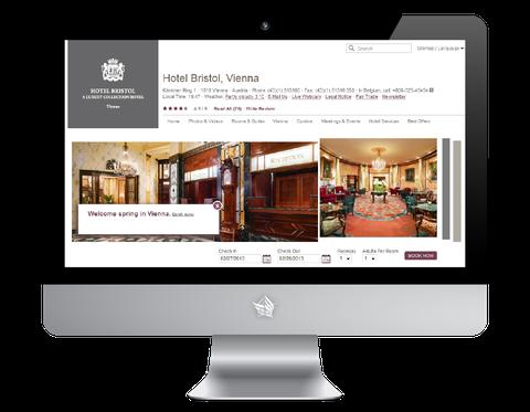 Hotel Bristol Vienna Website