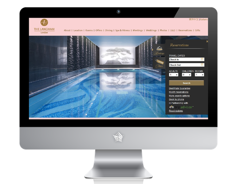 The Langham London Hotel Website