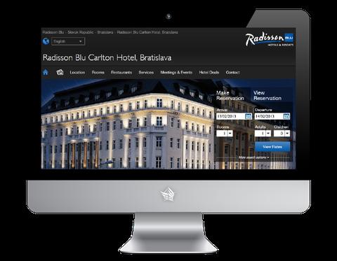 Radisson Blu Carlton Hotel Bratislava Website