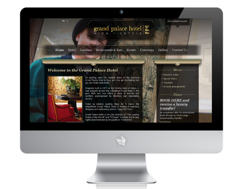 Grand Palace Hotel Riga Website