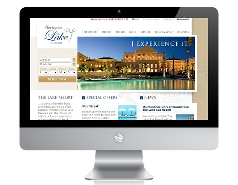 The Lake Resort Hotel Website