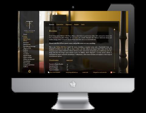 Hotel Telegraaf Website