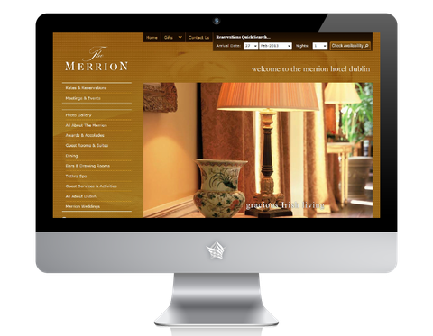 The Merrion Hotel Website