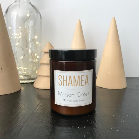 """La maison d'hôtes """"Cimes"""" personnalisée avec le parfum sapin made by Shamea."""