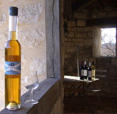 Eau de vie de vin - Château de Mayragues - Esprit de Mayragues