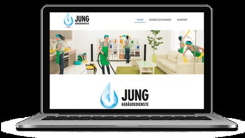 Jung Gebäudedienste - poweredy by Giangrasso Webdesign aus Karlsruhe
