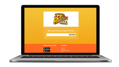 Super Pizza Lieferservice - poweredy by Giangrasso Webdesign aus Karlsruhe