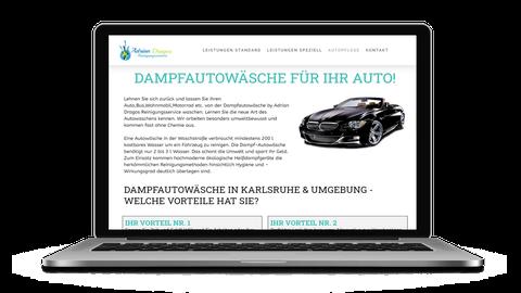 Adrian Dragos Gebäudereinigung - poweredy by Giangrasso Webdesign aus Karlsruhe
