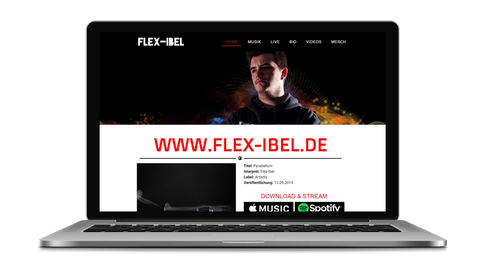 Flex-Ibel - poweredy by Giangrasso Webdesign aus Karlsruhe