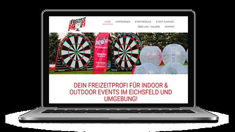 Dein Freizeitprofi - poweredy by Giangrasso Webdesign aus Karlsruhe.