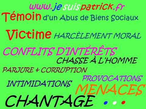 Liberté d'Expression... voir mon site www.maisonnonconforme.fr www.jesuispatrick.fr de Patrick DEREUDRE