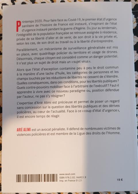LE COUP D'ETAT D'URGENCE Surveillance, Répression et Libertés de Maître Arié ALIMI /JUSTICE MAFIA FRANCE... ALERTE ROUGE !!! J'ACCUSE... CORRUPTION au COEUR de la JUSTICE Monsieur le Prédident de la République et son Gouvernement www.alerterouge-france.fr