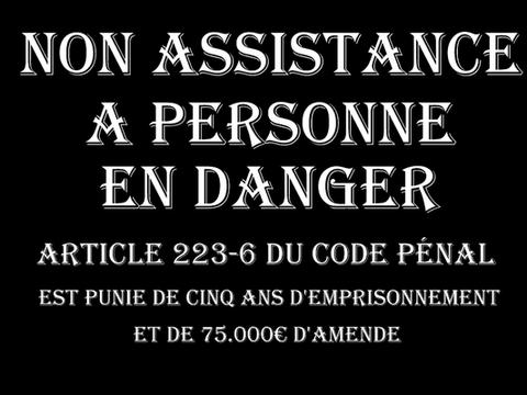 """""""NON ASSISTANCE A PERSONNE EN DANGER"""" Cette photo figure dans ce courrier adressé à Monsieur Emmanuel MACRON le Président de la République www.jesuispatrick.fr"""