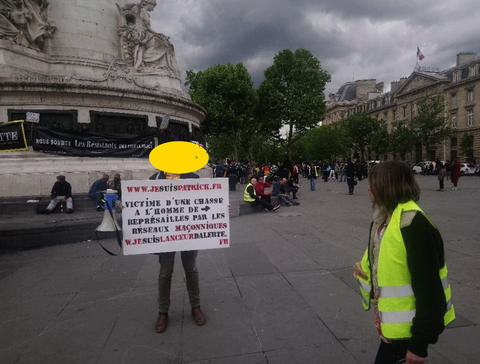 Manifestation Place de la Liberté à PARIS le 18 Mai 2019 www.jesuispatrick.com