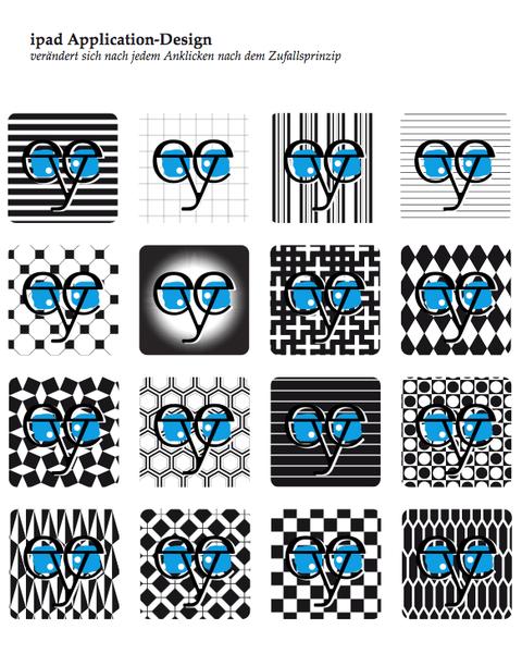 application design für/for ipad