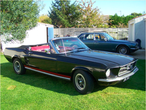Location Ford Mustang 67
