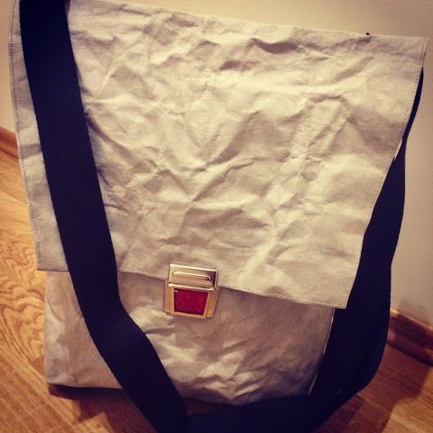 Tasche aus SnapPap (veganes Leder)/ bag from SnapPap (vegan leather)