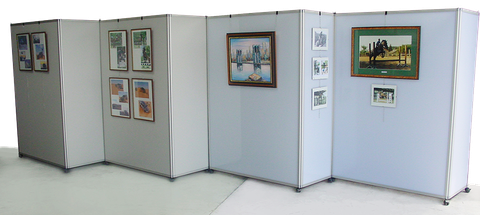 Séparation hall d'exposition