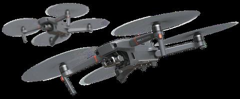 DJI Mavic2 Enterprize(デモ飛行、体験ではProを使用)