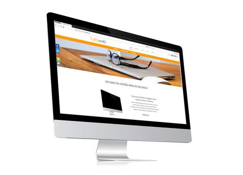 Turiaweb inception en un iMac