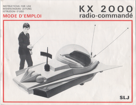 KX 2000 instruction manual