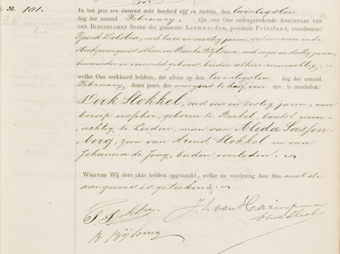 Overlijdensregister 1885,Bijzondere Strafgevangenis van Leeuwarden