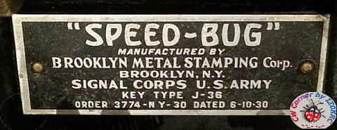 Speed - Bug plate, Army version