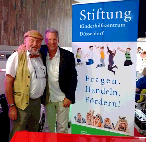Michael Riemer, links und Sascha Klaar