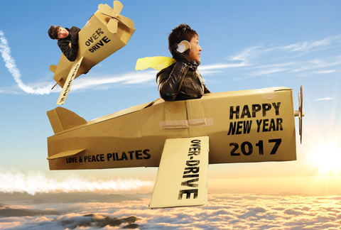 2017 OVER-DRIVE NEW YEAR Card