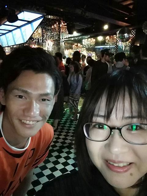 FCAWJ土井選手と記念撮影