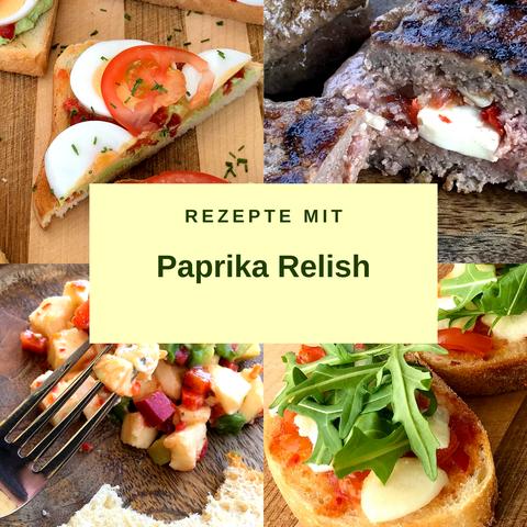 Rezepte mit Paprika Relish