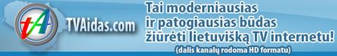 Lietuviška televizija internetu