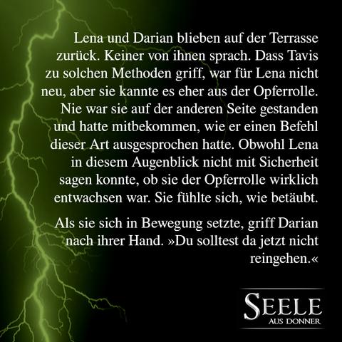 Seelen-Saga, Seele aus Donner, Marie Rapp