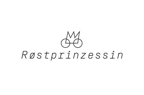 Logo für das Grillfahrrad Røstprinzessin von Haello Kommunikationsdesign Alexander Kurzhöfer