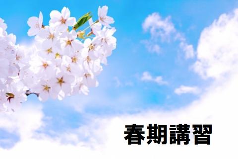 西大宮ゼミナール 国語力 春期講習 中学準備講座