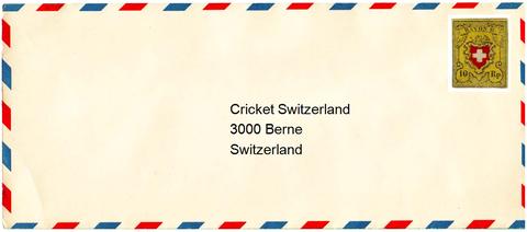 self addressed envelope