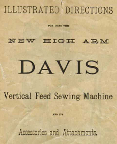 DAVIS VF Treadle Model 4