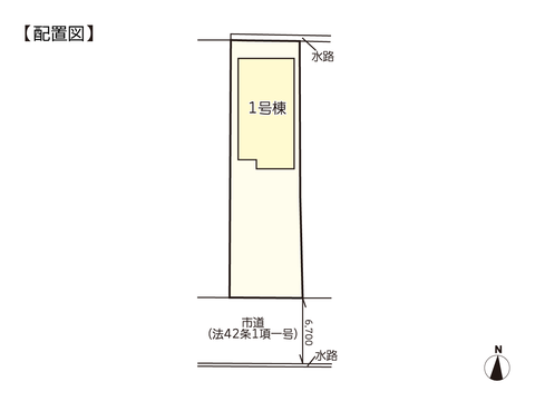 岡山県岡山市南区彦崎の新築 一戸建て分譲住宅の区画図
