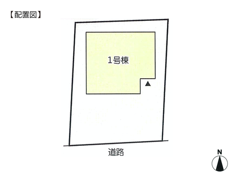 岡山県岡山市中区乙多見の新築 一戸建て分譲住宅の区画図