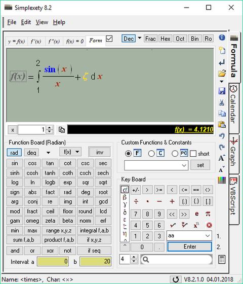 Simplexety freeware