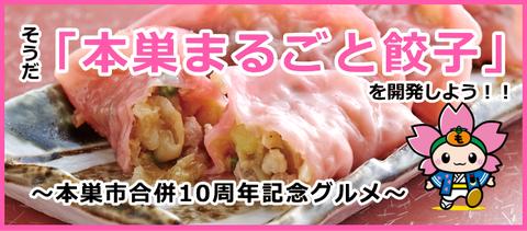 そうだ!「本巣まるごと餃子」を開発しよう!!~本巣市合併10周年記念グルメ~